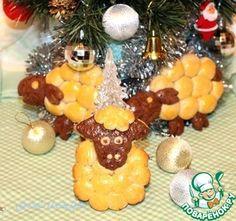 """Печенье """"Новогодние овечки"""" - кулинарный рецепт"""