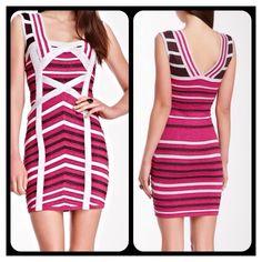 "Selling this ""❤VALENTINE'S DAY PERFECT❤BANDAGE DRESS"" in my Poshmark closet! My username is: aprils2ndcloset. #shopmycloset #poshmark #fashion #shopping #style #forsale #Dresses & Skirts"