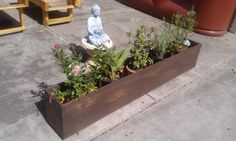 Winston Woodworks Handmade Pine Indoor/Outdoor Wood Planter