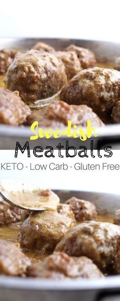 Keto Swedish Meatballs - This is the low carb solution to those. Keto Swedish Meatballs - This is the low carb solution to those craving a good old plate of swedish meatballs without the guilt. Net carbs per serving: Ketogenic Recipes, Low Carb Recipes, Cooking Recipes, Healthy Recipes, Ketogenic Diet, Keto Foods, Mince Recipes, Keto Meal, Healthy Nutrition
