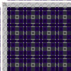 Drawdown Image: Figurierte Muster Pl. XL Nr. 3, Die färbige Gewebemusterung, Franz Donat, 8S, 8T
