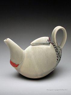 Deb Schwartzkopf Teapot  at MudFire Gallery