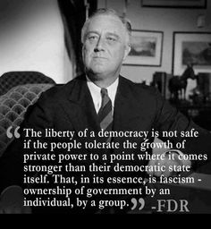 FDR is rolling over in his grave...