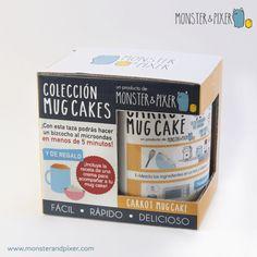 Taza Mug Cake de TARTA DE ZANAHORIA - Monster & Pixer |  La encontrarás en nuestra tienda online: www.monsterandpixer.com