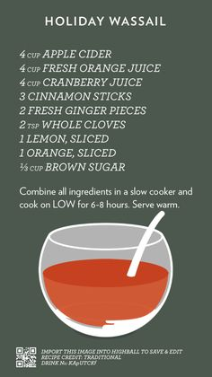 Cocktail Flash Cards - Christmas punch recipes non alcoholic - Christmas Punch, Christmas Drinks, Holiday Drinks, Party Drinks, Christmas Treats, Christmas Baking, Holiday Treats, Fun Drinks, Yummy Drinks