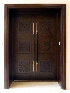 Trendy Wooden Stairs Rustic Wood Doors - Lilly is Love Modern Entrance Door, Main Entrance Door Design, Modern Wooden Doors, Custom Wood Doors, Modern Door, Entry Doors, Room Doors, Barn Doors, Wooden Front Door Design