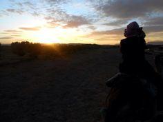 O nascer do sol mais lindo que ja vi.