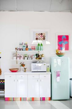 Joy Cho's Grown-Up Candyland Kitchenette — Kitchen Tour