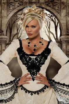 <3 <3 <3            --Gothic Fairy Medieval or Renaissance Style by RomanticThreads, $1450.00  (( and her attitude!)