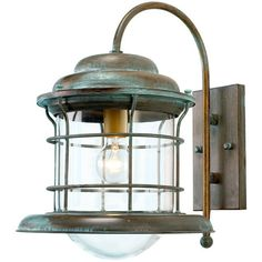 French-inspired garden lighting - Caravela Outdoor Wall Lantern