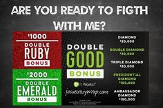 ⚠️Who is ready to make a change in their lives with me? And take it to a #WholeNothaLevel our Bonus are Double.Can you imagine? Are you ready to #FIGTH to be debt free and enjoy your life!!! ⭐️txt/call (915) 503-4016