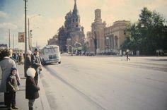 ЛЕНИНГРАД Набережная Обводного канала. 1974 г.