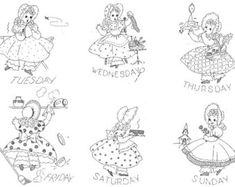 The Vintage Pattern Files: 1930's,40's,50's Embroidery