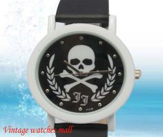 Classic fashion skulls watches by Vintagewatchesmall on Etsy, $15.99