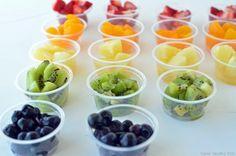 healthy fruit and yogurt desert bar