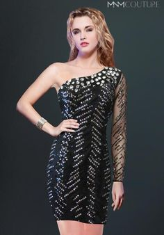 MNM Couture 8273S Dress at Peaches Boutique