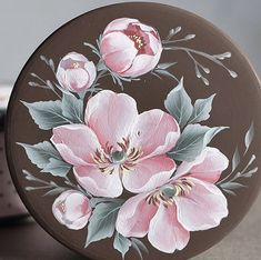 Flower Painting Canvas, China Painting, Mural Painting, Tole Painting, Fabric Painting, Color Magic, Hand Painted Ceramics, Easy Paintings, Painting Patterns