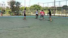 Quadra de futsal. #aspectosocial