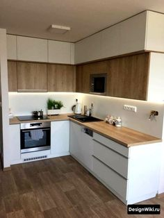 Exceptional living kitchen room are offered on our website. Kitchen Room Design, Kitchen Cabinet Design, Modern Kitchen Design, Kitchen Layout, Interior Design Kitchen, Kitchen Modular, Modern Kitchen Cabinets, Farmhouse Kitchen Decor, Home Decor Kitchen