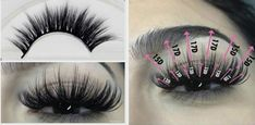 Mink Eyelashes: Best Sets – My hair and beauty Big Lashes, Wispy Lashes, Longer Eyelashes, Fake Eyelashes, Eyelash Extensions Styles, Eyelash Sets, How To Clean Makeup Brushes, Hair And Nails, Eye Makeup