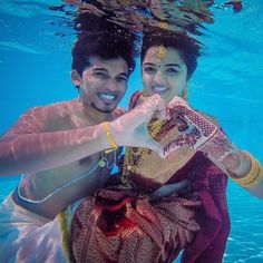 Underwater pre-wedding photoshoot ideas are trending the most. Such a magical couple's underwater photoshoot is goals. Surely these beautiful underwater poses will help the Indian bride and groom to select some poses for their Pre Wedding Poses, Pre Wedding Shoot Ideas, Pre Wedding Photoshoot, Wedding Pictures, Photoshoot Ideas, Wedding Couples, Underwater Photoshoot, Underwater Wedding, Underwater Photography