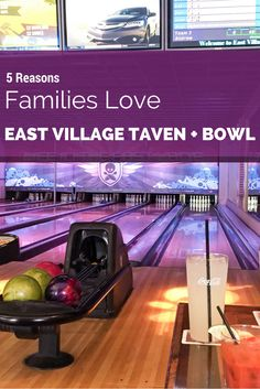 See why East Village Tavern and Bowl makes fun thing to do in San Diego with kids.