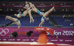 Beautiful Multi-Exposure Olympic Photography
