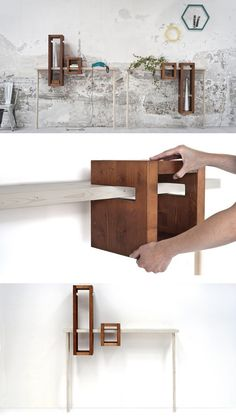 Solid wood console #table IGGY by Formabilio | #design luca longu @formabilio