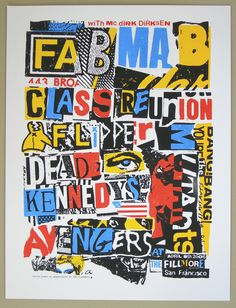 dead kennedys - fab mab reunion poster