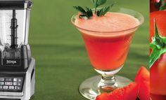 Ninja Blender Garden Veggies In A Glass Smoothie