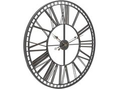 mirrored skeleton wall clock | skeleton wall clock with mirror face
