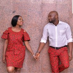 African clothing for couples / ankara for men / ankara / anka African Print Fashion, African Fashion Dresses, African Attire, African Wear, African Dress, African Clothes, African Prints, African Patterns, African Style