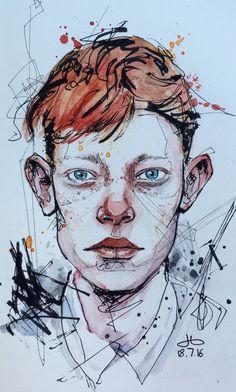 Artist Dominic Beyeler