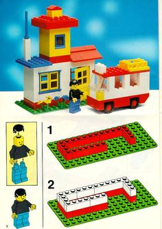 Old LEGO® Instructions | letsbuilditagain.com