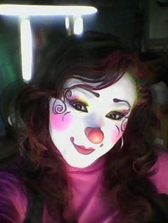 Circus Makeup, Female Clown, Cute Clown, Clowns, Folk, Halloween Face Makeup, Brass, Magic, Fictional Characters