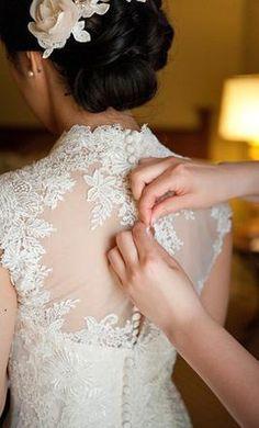 Wedding Dresses on Pinterest | Monique Lhuillier, Couture Wedding Dre…