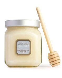 almond, coconut, milk honey bath