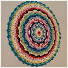 hope mandala #crochet pattern free from stichhikers