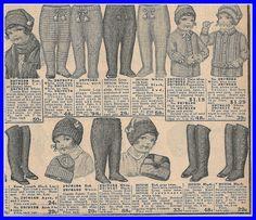 1916 little ones knitwear,Sears