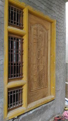 New Door Design, Door Design Images, House Window Design, Wooden Front Door Design, Front Gate Design, Double Door Design, Wooden Front Doors, House Design, Bed Furniture