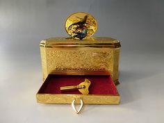 German KG Singing Bird Box Automaton Clockwork Music Box L K The Video | eBay