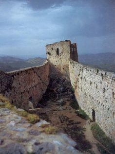 Montsegur, last bastion of the Cathars, Languedoc.