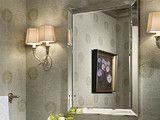 Powder room - traditional - powder room - baltimore - by Elizabeth Reich