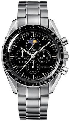 Omega Speedmaster Moon Phase Men's Watch 3576.50: Watches: Amazon.com http://www.authenticwatches.com/omspmoph35.html#.UuwI-D1_vnV