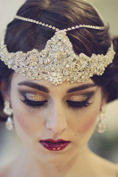 Glitter-makeup-gold                                                                                                                                                                                 More