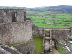 Dinefwr Castle - near Llandeilo, Carmarthenshire, Southwest Wales (visited Aug 2012) my great grandfather built this :)