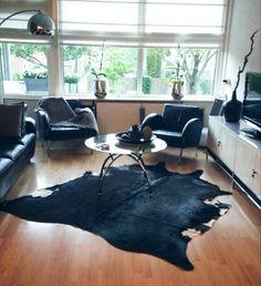 Koeienhuid|zwart-wit|interieur|Ikea
