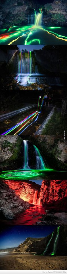 http://www.photoblip.com/pictures/99409/glow-sticks-into-a-waterfall.html