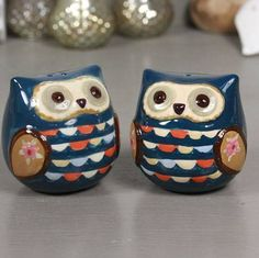 owl salt and pepper shaker set by lisa angel homeware and gifts | notonthehighstreet.com