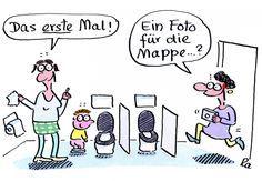 Kigaportal_Kindergarten_Cartoon_Renate-Alf_Erstes Mal
